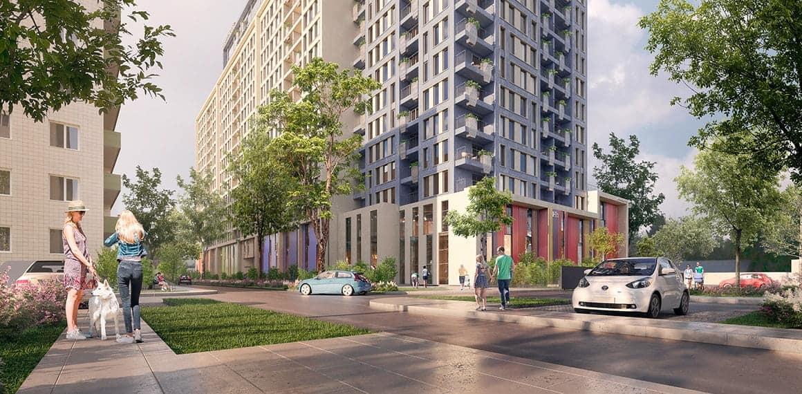 Двокімнатні квартири в новому житловому комплексі HAPPY HOUSE 1